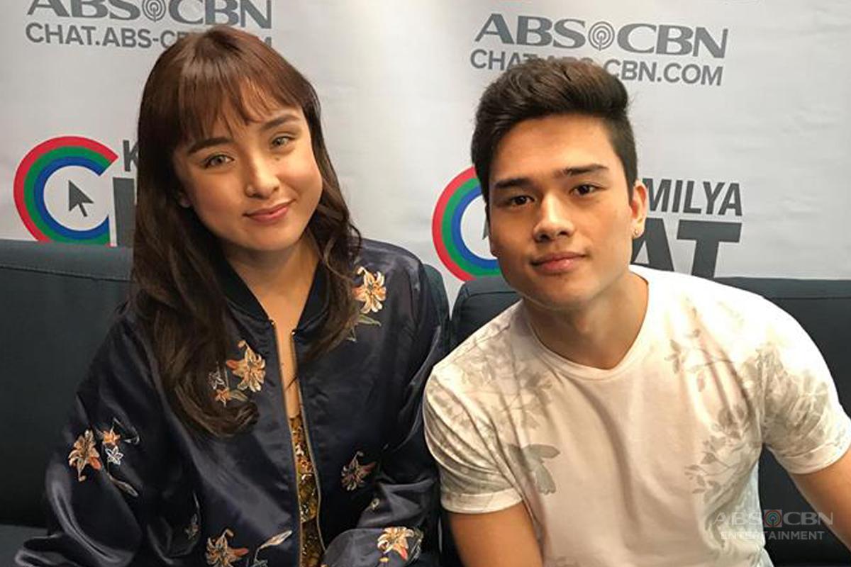 PHOTOS: Kapamilya Chat With Marco Gumabao And Sarah Carlos