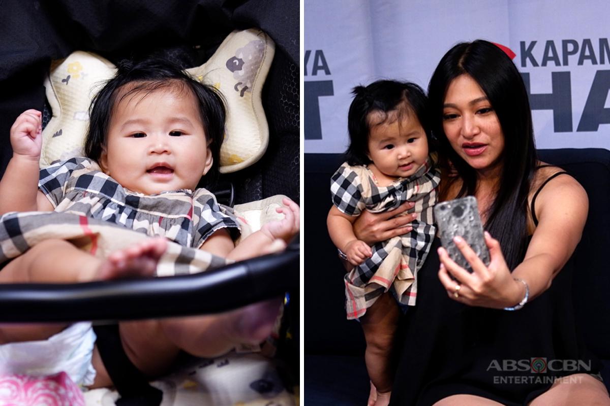 Rufa Mae and her baby's precious moments on Kapamilya Chat