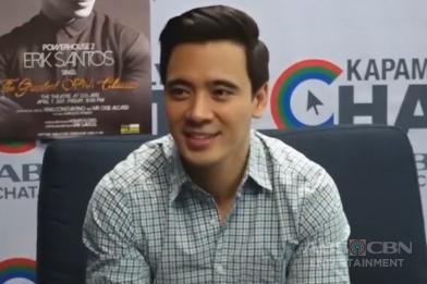 "Kapamilya Chat with Erik Santos for Power House 2: Erik Santos Sings ""The Greatest OPM Classics"""