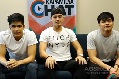 Kapamilya Chat with Marco, Mark and Jules for Ipaglaban Mo