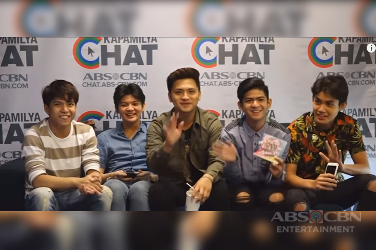 Kapamilya Chat with Gimme 5 for their latest album 'Sophomore'