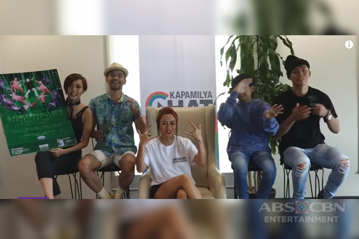 Kapamilya Chat with G-Force