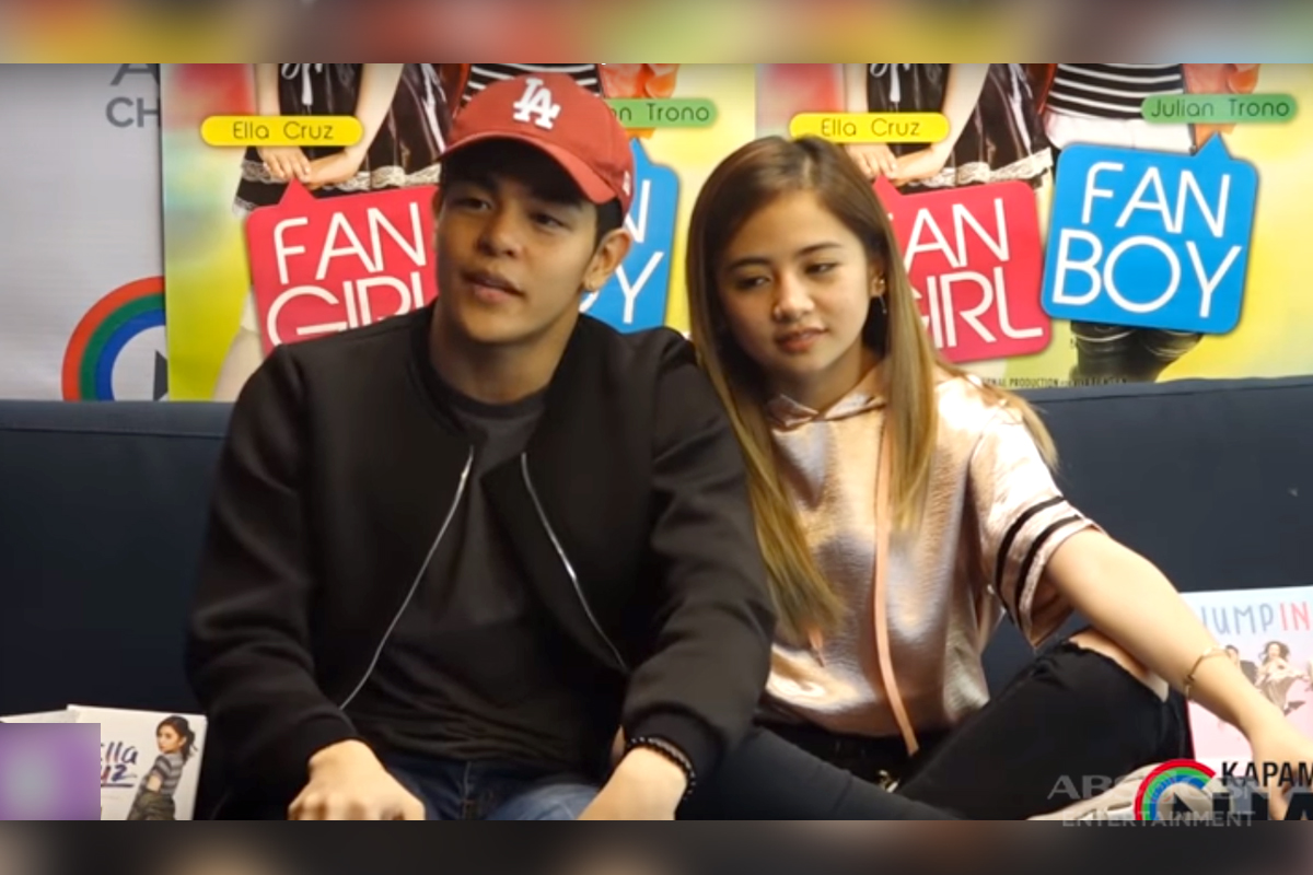 Kapamilya Chat with Ella Cruz and Julian Trono for Fan Girl Fan Boy