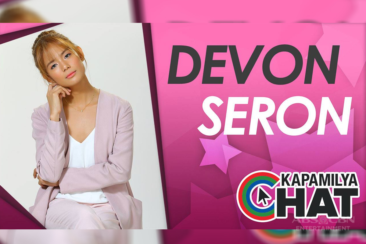 Kapamilya Chat with Devon Seron for 'You With Me'