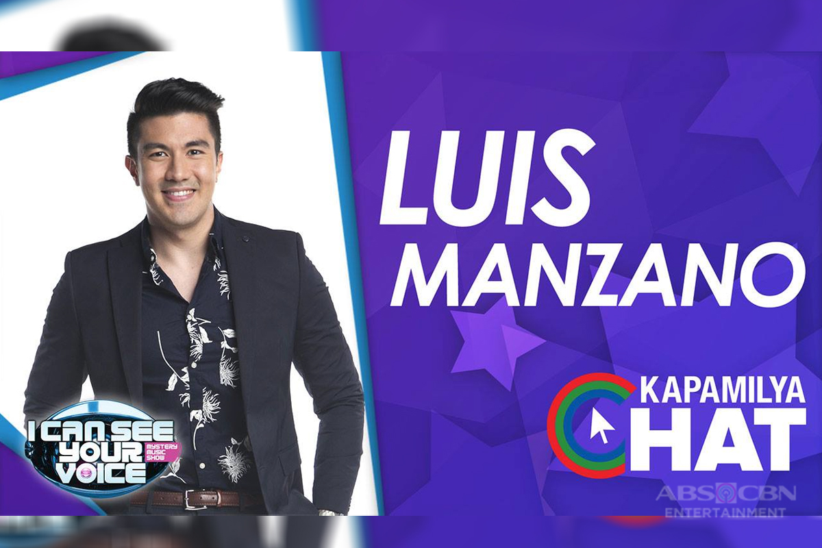 Kapamilya Chat with Luis Manzano for 'I Can See Your Voice'