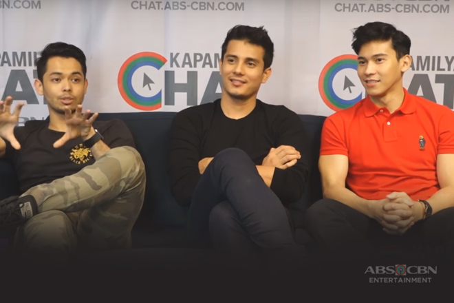 Kapamilya Chat with Enchong Dee, Ejay Falcon and AJ Muhlach for The Blood Sisters