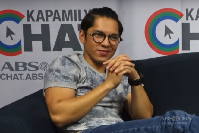 Kapamilya Chat with Carlo Aquino for Cinema One Originals Throwback Today