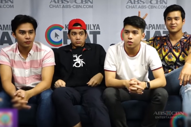 Kapamilya Chat with Jerome, Joshua, Nash and Mccoy for The Good Son Finale