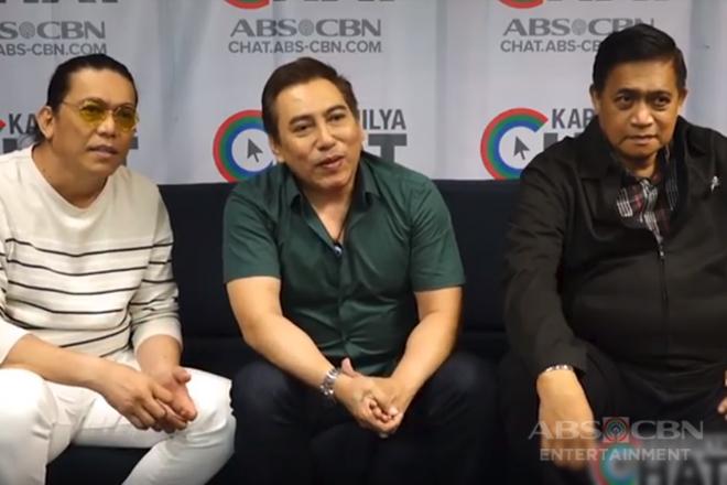 Kapamilya Chat with Tawag ng Tanghalan: The Erpats - Rico Garcia, John Raymundo & Anton Sabalza