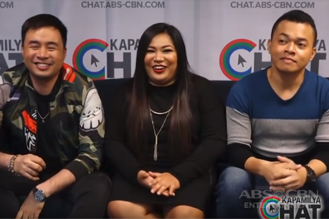 Kapamilya Chat with Hazelyn Cascaño, Lucky Robles, & Alfred Relatado for Tawag ng Tanghalan Concert