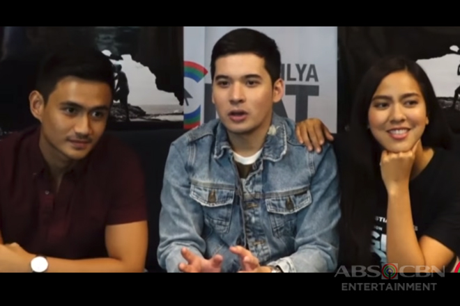 Kapamilya Chat with Christian, Mara and Jomari for their movie Signal Rock