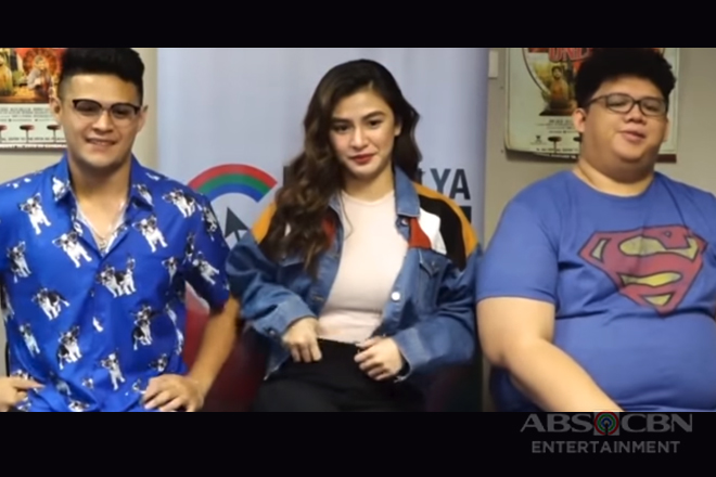 Kapamilya Chat with Kamille Filoteo, Jon Lucas and Red Olero for their movie Unli Life