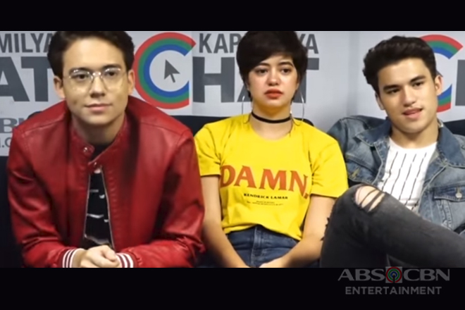 Kapamilya Chat with Sue, Jameson, and Markus for their movie Ang Babaeng Allergic Sa Wifi