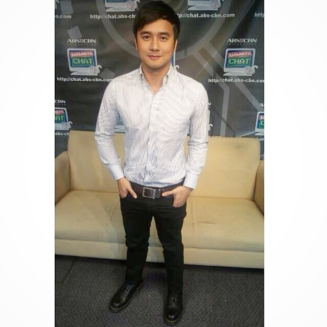 LOOK: JM's OOTD at the Kapamilya Chat