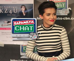 PHOTOS: Jamming with KZ Tandingan sa Kapamilya Chat