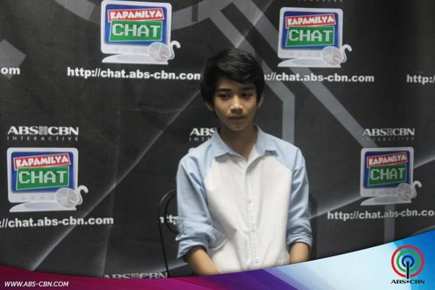 Zaijian Jaranilla on Kapamilya Chat