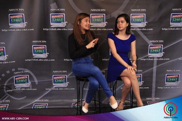 PHOTOS: Sue at Karen, nag-enjoy nang husto sa chickahan with fans sa Kapamilya Chat