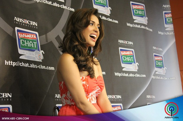 PHOTOS: Beauty queen MJ Lastimosa lets her hair down at the Kapamilya Chat
