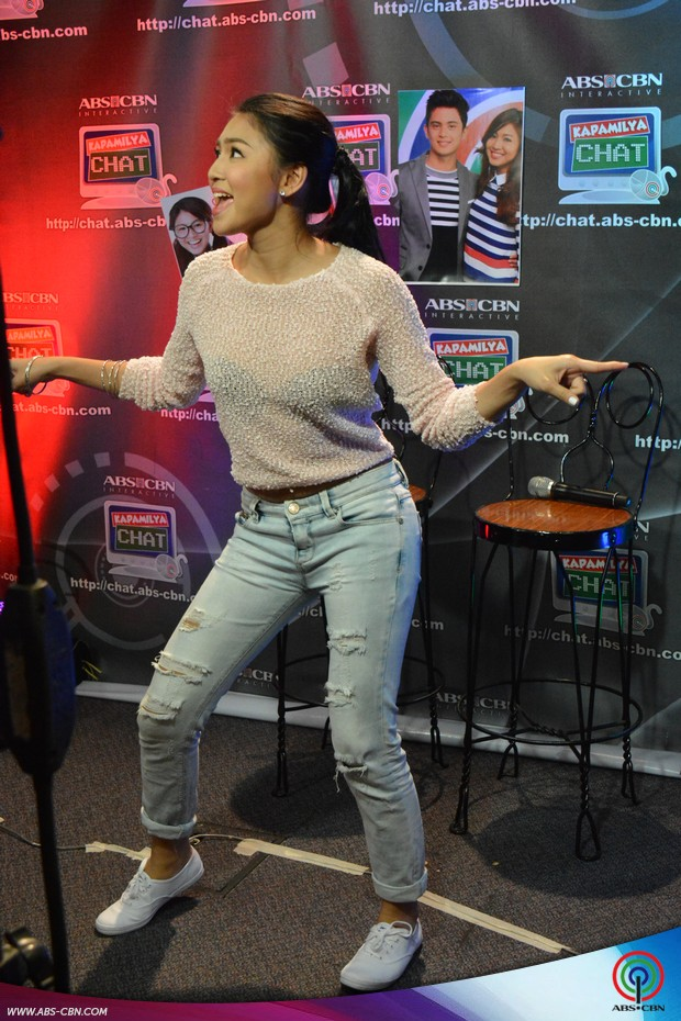 PHOTOS: James Reid and Nadine Lustre's first guesting on Kapamilya Chat