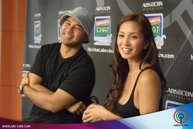 PHOTOS: Joem Bascon and Roxee B sa Kapamilya Chat
