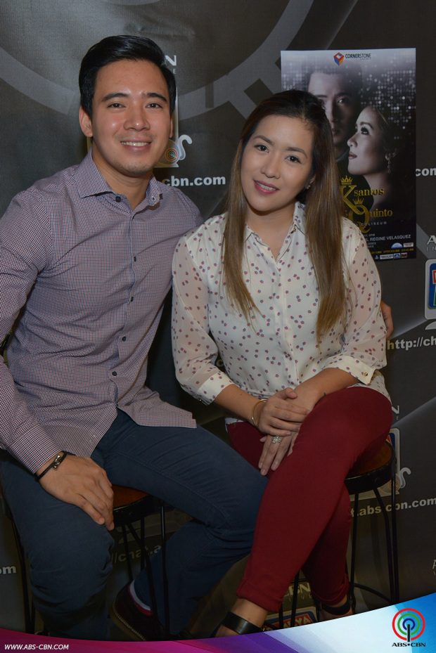 PHOTOS: King and Queen of Teleserye Themesongs Erik Santos and Angeline Quinto on Kapamilya Chat