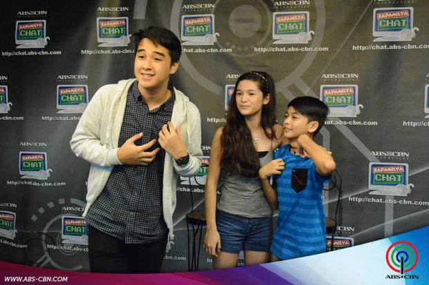 PHOTOS: Kapamilya Chat with Ex PBB 737 teens Kyle, Barbie and Ryan