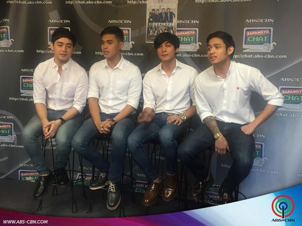 Joseph, Marlo, Bryan at Michael nagpakilig sa Kapamilya Chat