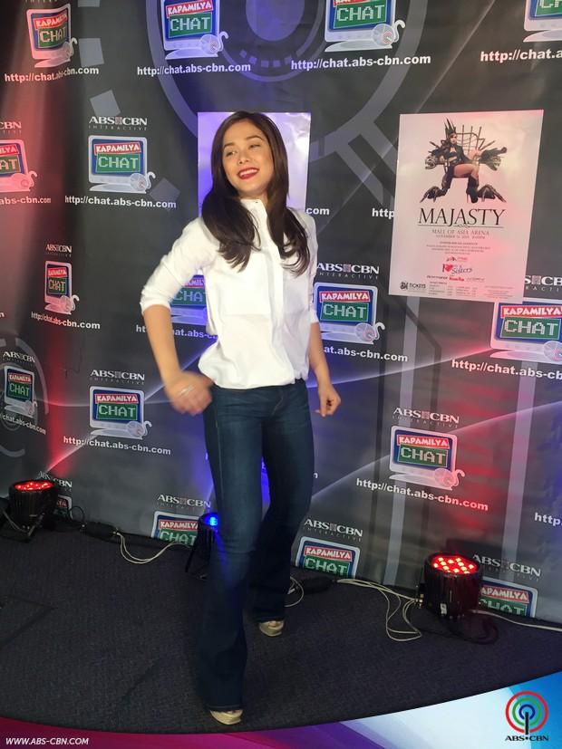 Dance Princess Maja Salvador on Kapamilya Chat