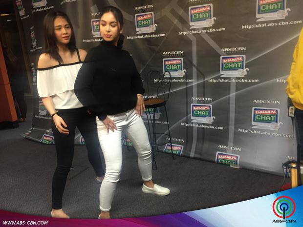 Kapamilya teen stars Julia Barretto and Janella Salvador ...