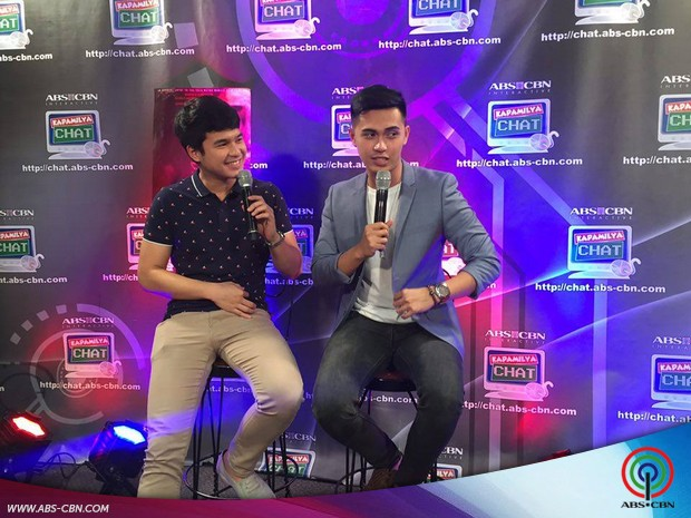 Teen stars Jerome Ponce and Marlo Mortel on Kapamilya Chat