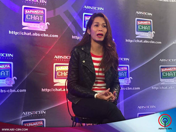 Pokwang on Kapamilya Chat for All you need is Pag-ibig