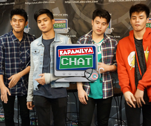 Hashtag Ronnie, Tom Ryle and Paulo on Kapamilya Chat