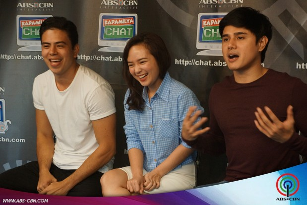 Kapamilya Chat with Inah Estrada, Lemuelle Pelayo and Ken Anderson
