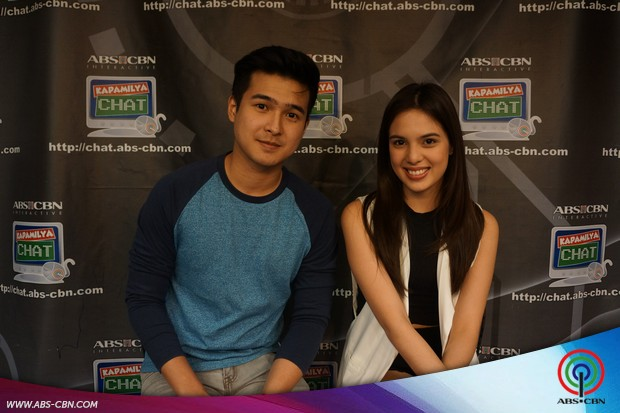 Teen stars Jerome Ponce and Michelle Vito on Kapamilya Chat