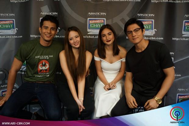 Pasion de Amor lead stars on Kapamilya Chat
