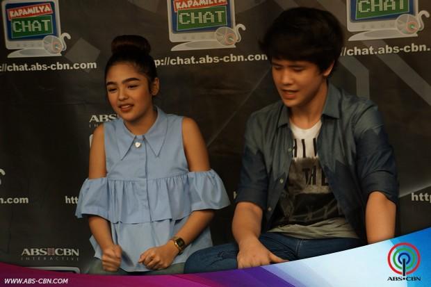 Andrea Brillantes and JK Labajo on Kapamilya Chat
