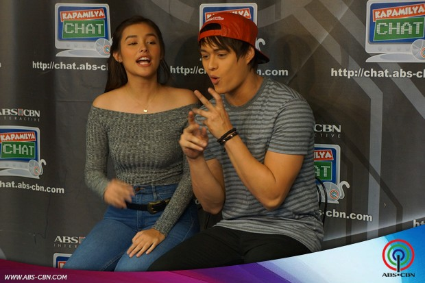 Kapamilya Chat with Dolce Amore lead stars Enrique Gil and Liza Soberano