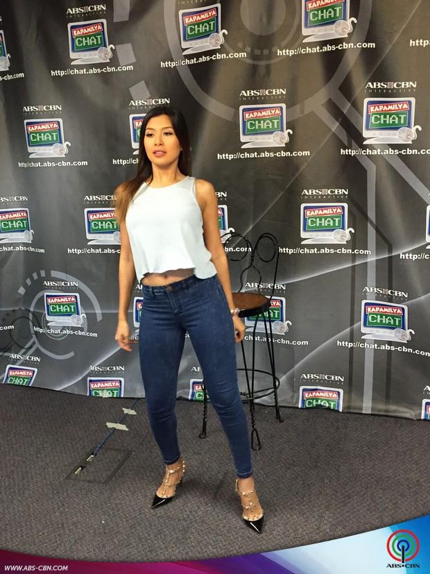 Sunshine Garcia on Kapamilya Chat