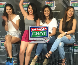 Girltrends Dawn, Erin, Mica and Kelley on Kapamilya Chat
