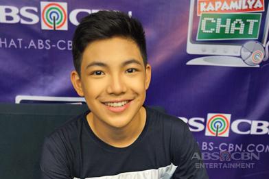 D' Total performer Darren Espanto on Kapamilya Chat