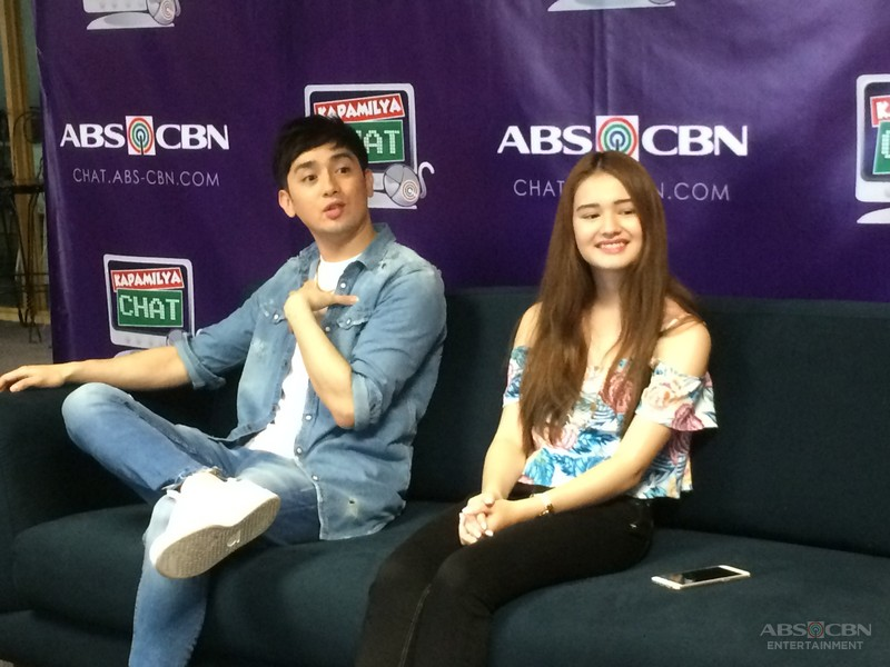 Bryan Santos and Kira on Kapamilya Chat