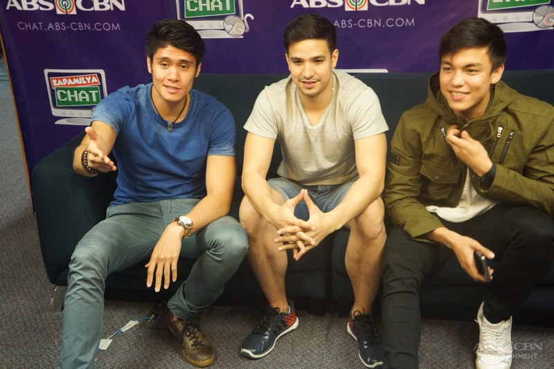 Hotspot's Markki, Alex and Ryan on Kapamilya Chat
