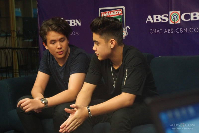 Voice Next Door's Bailey and JK on Kapamilya Chat