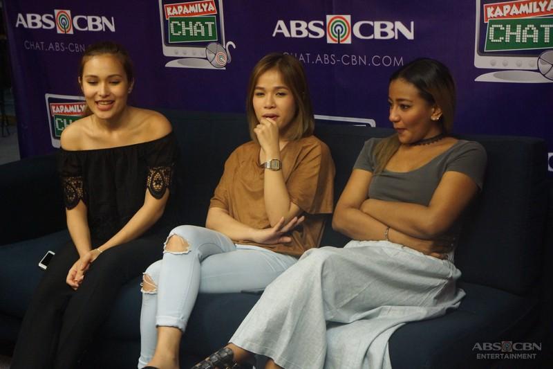 O Diva's Klarisse, Liezel and Emman on Kapamilya Chat