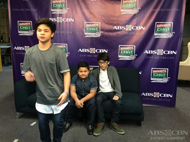 Kapamilya Chat with Bugoy, Clarence and Zaijian