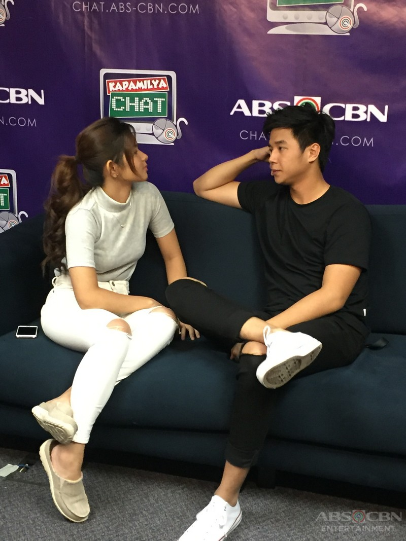 Yves Flores and Loisa Andalio on Kapamilya Chat