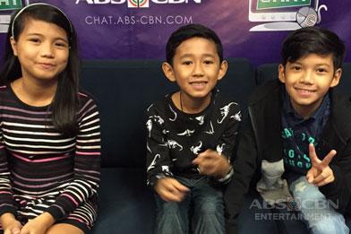 Kapamilya Chat with Joshua, Justin and Antonetthe of The Voice Kids 3