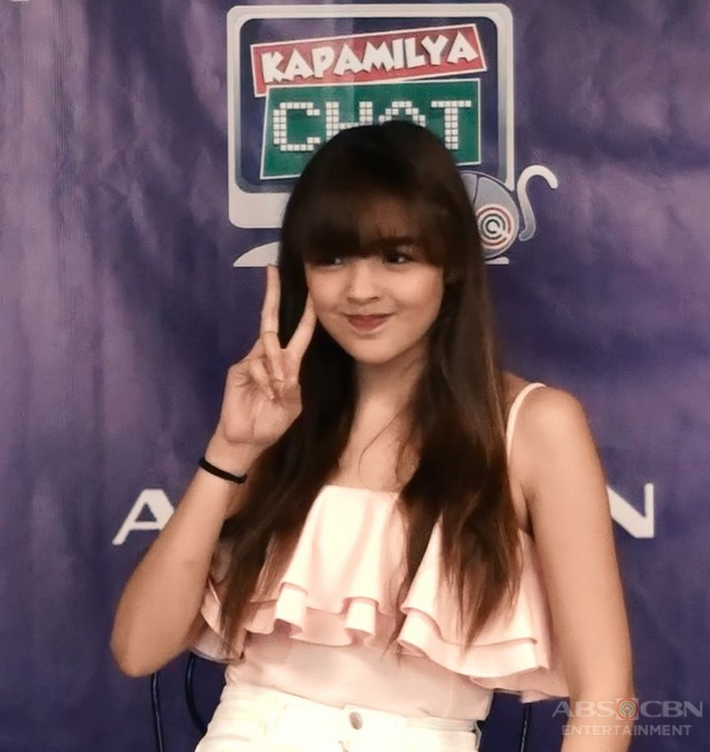 Andrea Brillantes on Kapamilya Chat