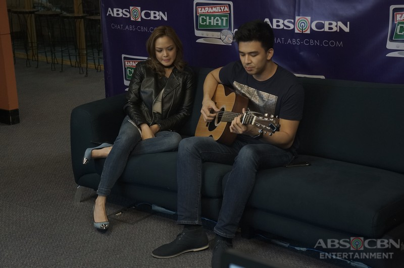 Migz and Maya on Kapamilya Chat