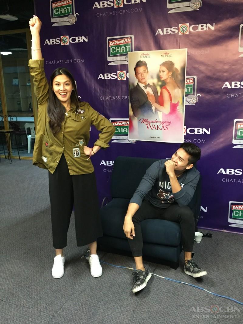 Newest loveteam Maika and Marco on Kapamilya Chat